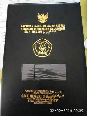 Sampul Raport SMA