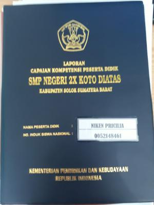 Sampul Raport SMP